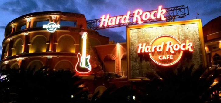 Hard Rock Cafe Lyon Carte
