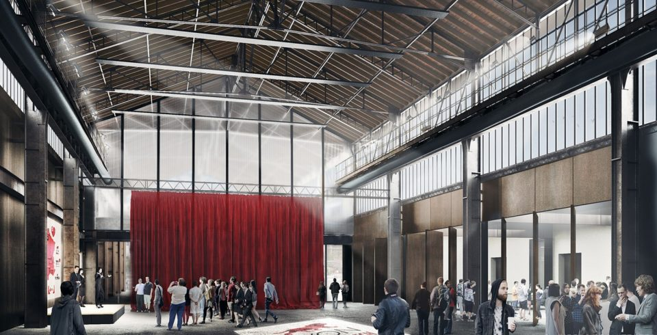 La future Halle (SPL Lyon Confluence)