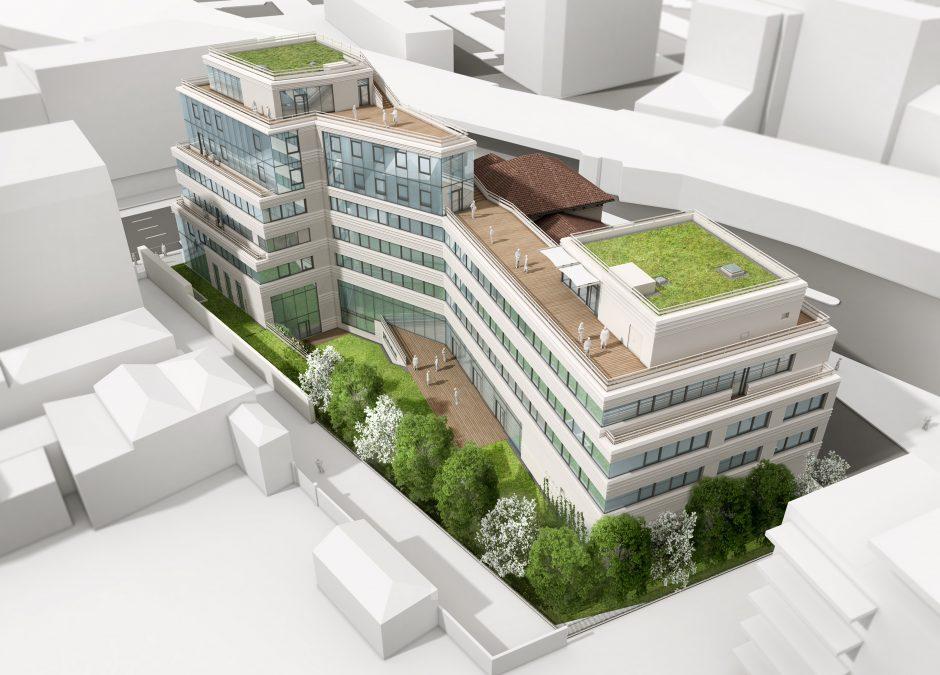 Un immeuble signal entre lyon et villeurbanne nouveau lyon for Piscine entre 2 immeubles